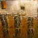 reflet dans une eau en partie gelée, Bruges by maggy le saux