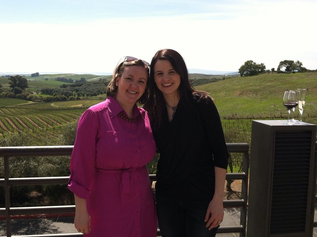 Stephanie and I @ Artesa Winery