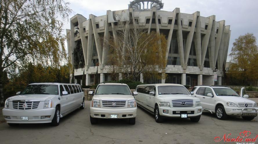 """Лимузины в Кишиневе """"Limousines"""""""