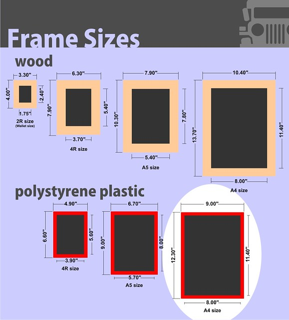 photo frame sizes a4 plastic flickr photo