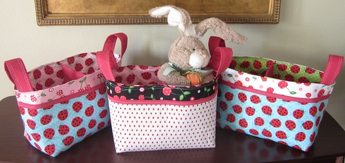 Divided Baskets for Easter