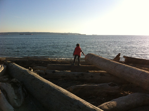 Scott on Dundarave Beach