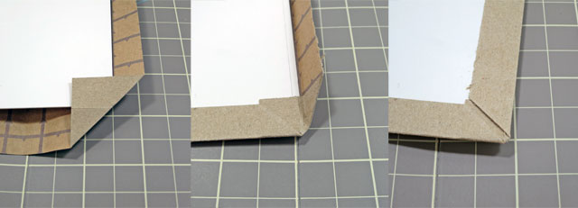 diy making book jacket from toothpaste boxes07
