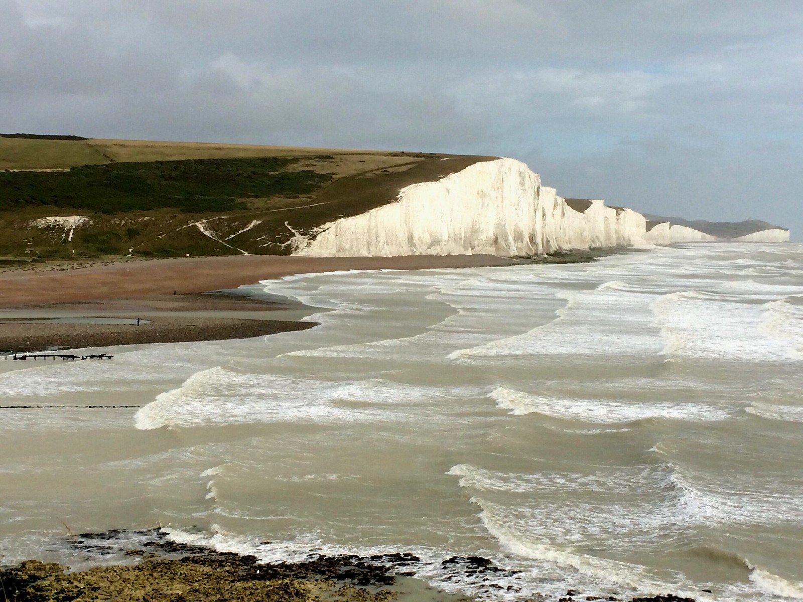 August 20, 2016: Glynde to Seaford Seven Sisters