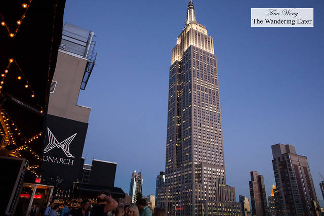 View of the Empire State Building from The Monarch