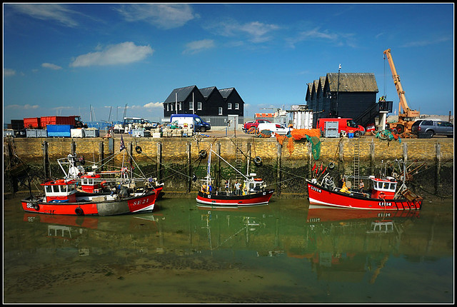 Fishing boats, Whitstable