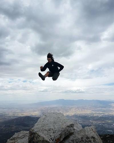 Summit kick!