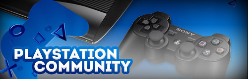 PlayStation Community Header
