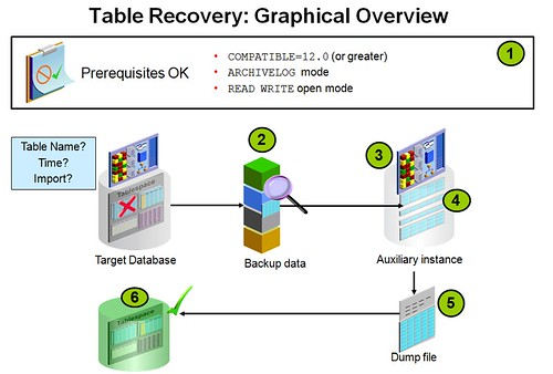 Table Recovery Graphical Overview