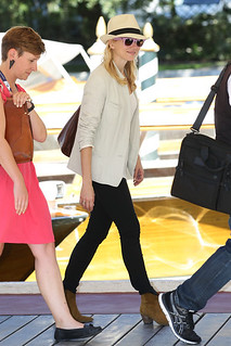 Naomi Watts Ankle Boots Celebrity Style Women's Fashion
