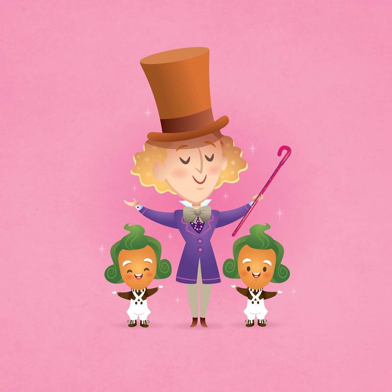 Willy Wonka av Jerrod MAruyama