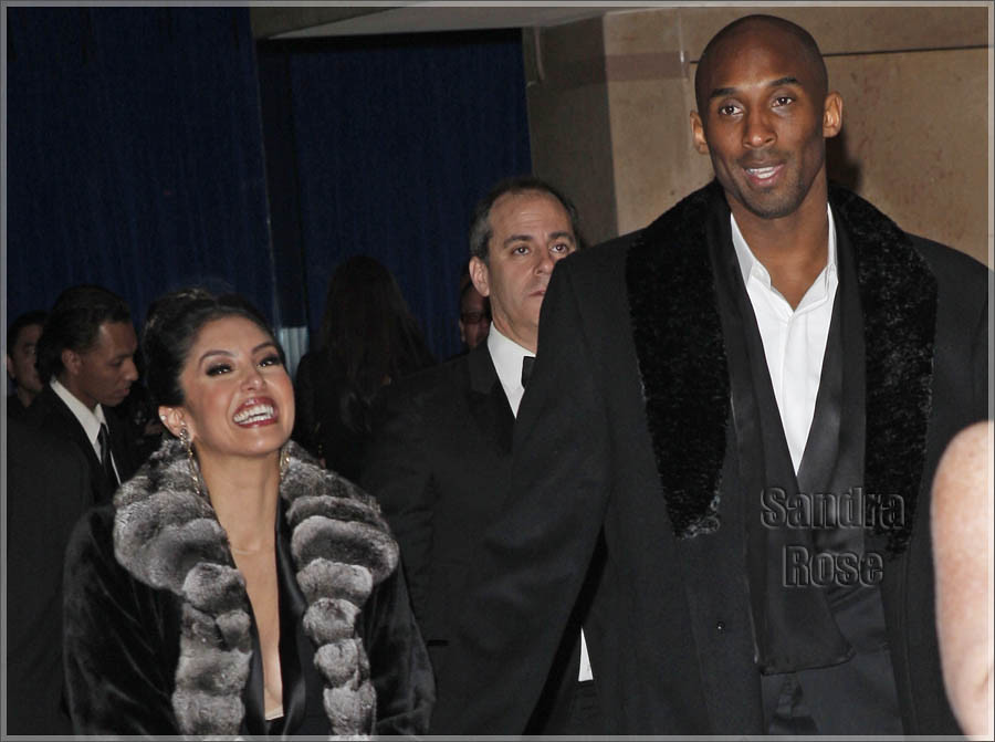 Kobe Bryant and wife Vanessa attended the Golden Globe Awards in Los Angeles