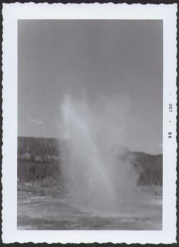 Yellowstone1956_Geyser1