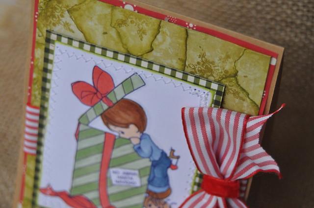 tarjeta navidad hecha a mano