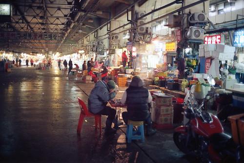 Famished at Noriyangjin Market