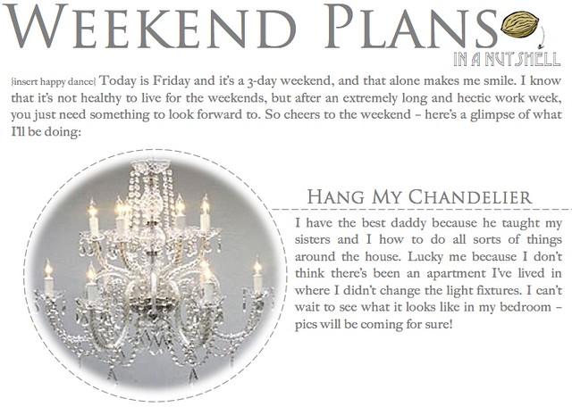 Weekend Plans 1