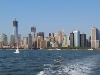 Imagen del Financial District de Nueva York