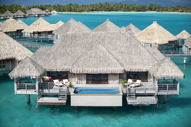 The St. Regis Bora Bora Resort—Royal Over Water Villa