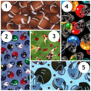 4my3boyz Football Fabrics