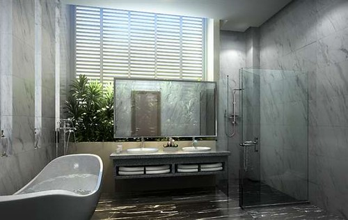The Villa @ ForestHill Damansara Master Bathroom