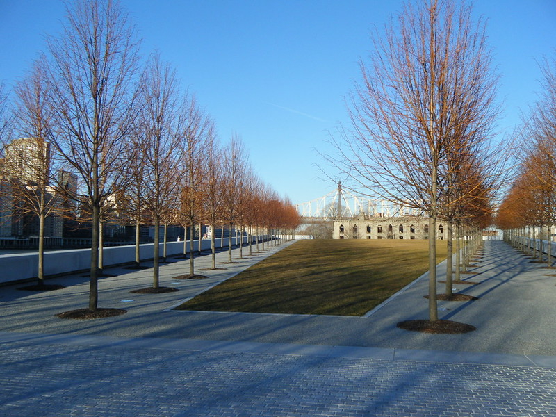 North view in Four Freedoms Park