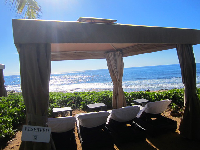 grand hyatt beach cabana