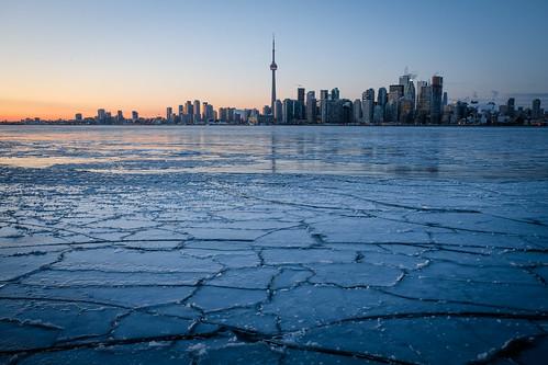 frozen solid - blue hour
