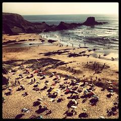 The beach of Zambujeira do Mar