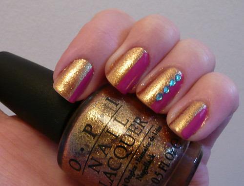 pink gold gems 1