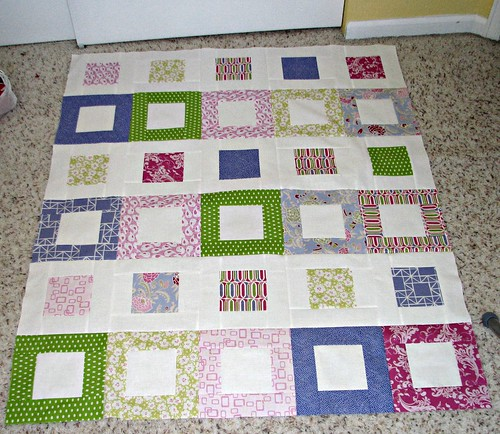 Film Strip Quilt Top by wagsdot911