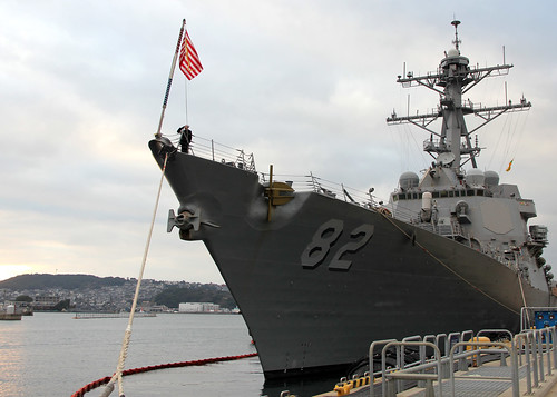 VLADIVOSTOK, Russia - Guided-missile destroyer USS Lassen (DDG 82) arrived in Vladivostok May 7 for a visit to build ties and foster relationships with the Russian Navy in areas of mutual interest.