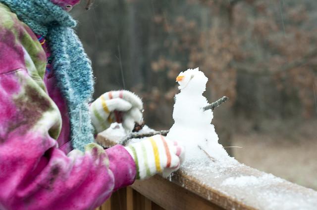 NC snowman