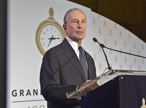 Le milliardaire américain: Micheal Bloomberg