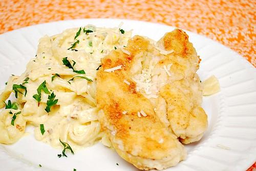 Chicken Fettuccine Carbonara