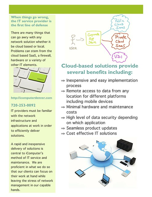 iComputer IT Support Flyer 2
