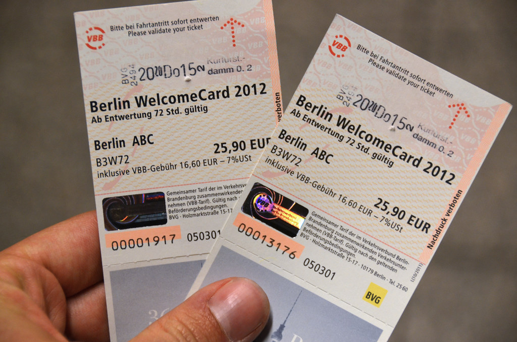 Tarjetas berlín Welcome Card