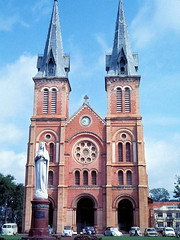 1967 A catholic church in Saigon