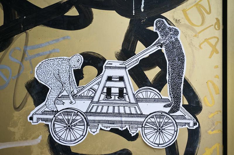 Street Art Lucas Locomotive