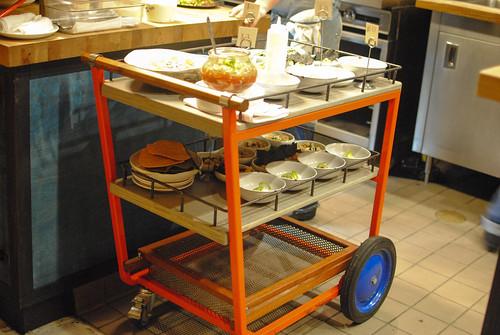 dim sum cart