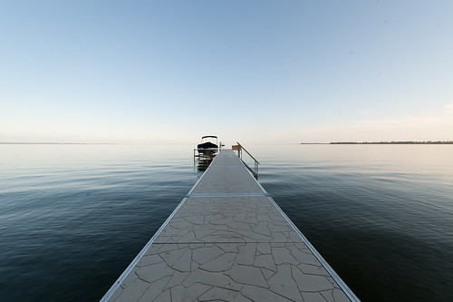 lake water pier boat nikon horizon d3 oshkosh winnebago 1424mm