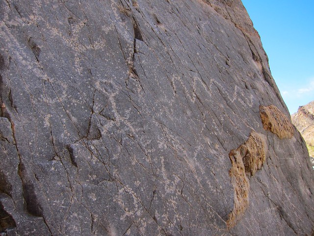 Petroglyphs in Marble Canyon