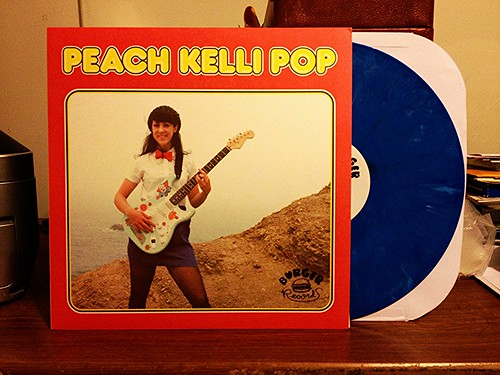 Peach Kelli Pop - S/T LP (#2) - Blue Vinyl (/300) by Tim PopKid