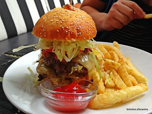 The Norfolk - Beef Burger