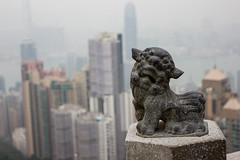 Lion Statue @ The Peak