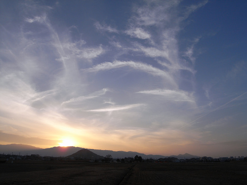藤原宮跡から眺める大和三山-07