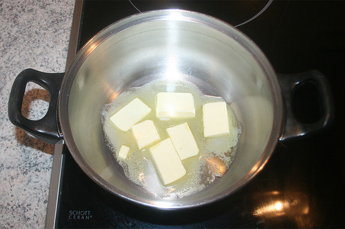 30 - Butter schmelzen / Melt butter