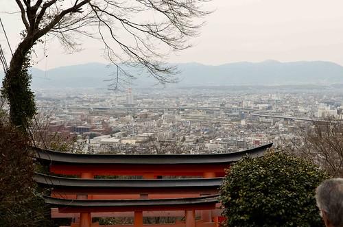Fushimi Inari Shrine Overlook