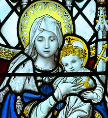 Blessed Virgin and child by FC Eden