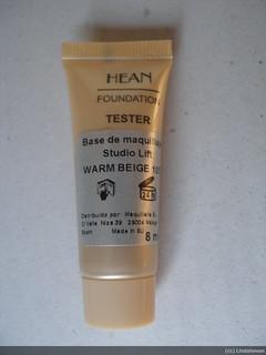 Muestra de base de maquillaje Studio Lift de Hean