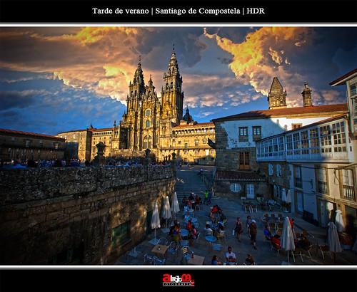 Santiago de Compostela | HDR by alrojo09